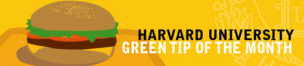 Harvard University Green Tip of the Month